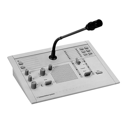 6-канальная панель переводчика с громкоговорителем LBB3222/04