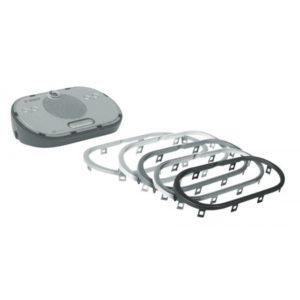 Набор серебряных матовых ободов (10 шт) DCN-DISR-SR