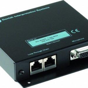 Модуль для подключения микрофона фонового шума. Предназначен для передачи фонового сигнала в моменты отсутствия сигнала с пультов конференц-системы AM 6040