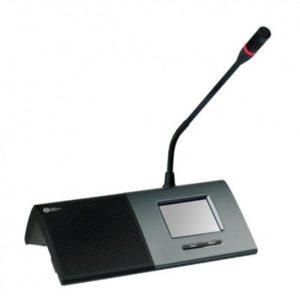 """Настольный микрофонный пульт с 3.5 """" ЖК сенсорным экраном"""